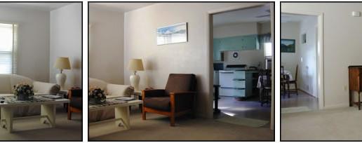 Duplex living room photo